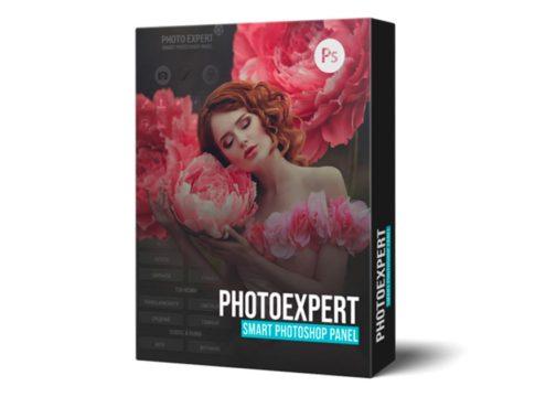 Панель для Photoshop: PhotoExpert