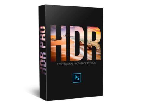 Экшены: HDR PRO